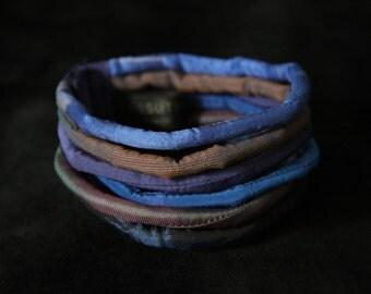 Dusk - silk cord bracelet