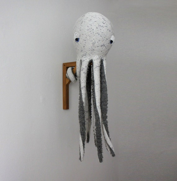 Big Octopus Stuffed Animal <0> Plush Toy <0> Cotton Jersey & Faux Fur
