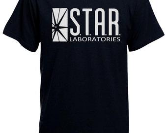 STAR labs Gotham city comic books Batman Bruce Wayne sm to xxxl mens T-shirt