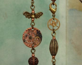 Steampunk Earrings – Hand Made Wearable Art, Jewelry