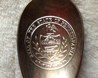 Vintage Bicentennial State Spoon - Pennsylvania - International Silver