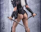 Leather armor Dark Elf