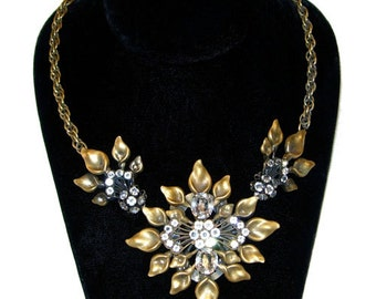 Vintage Joseff of Hollywood Rhinestone Necklace