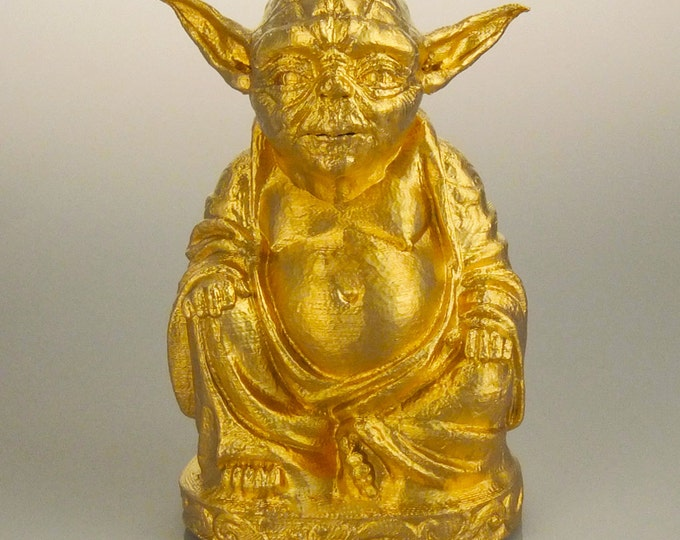Star Wars - Yoda Buddha (Brilliant Gold)