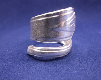 "Spoon Ring 1929 ""Deauville"" Handmade Spoon Jewelry size 7"