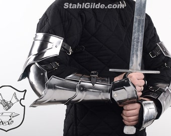 "Larp Gladiator Knight Arm Harness ""Warlord"": a pair"