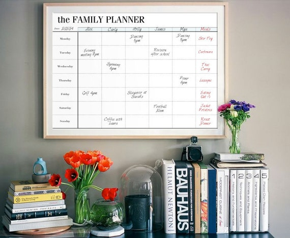 Family Planner Printable Family Organizer by ...