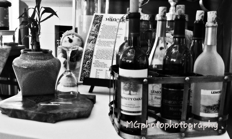 Wine Bottle Black And White | www.imgkid.com - The Image ...