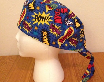 Superhero Scrub Cap