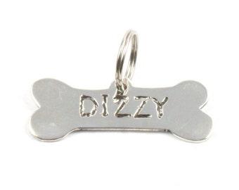 Handmade Solid Silver 925 Hallmarked Dog ID Tag