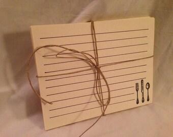 Recipe Cards - set of 25