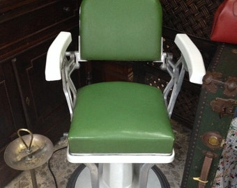 Barber chairs pair