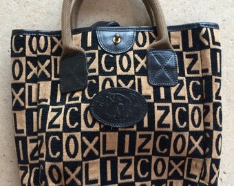 Liz Cox Monogram Bag