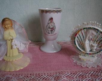 Communion, glass, goblet, Mazagran, cake decoration set