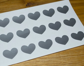 30 stickers  heart, wedding stickers, Christmas Stickers, envelope, gift, heart stickers