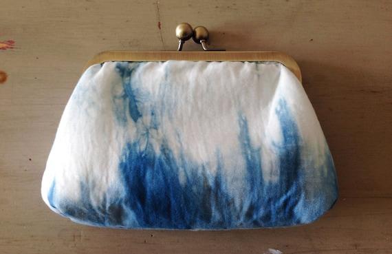 Shibori Purse | Clutch Bag Hand Dyed