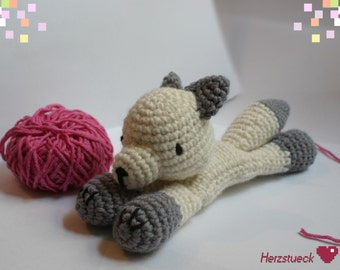 Snow Fox Amigurumi instructions