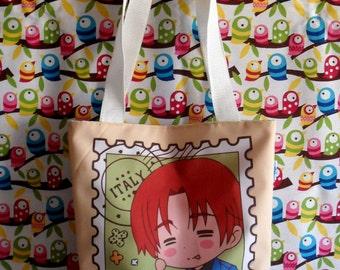 Cute Hetalia Mini Tote Bag Italia Anime Italy