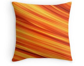 Orange Pillow, Orange Throw Pillow, Orange Toss Pillow, Orange Bedding, Orange Bedroom, Orange Pillow Case, Orange Pillow Cover, Orange Room