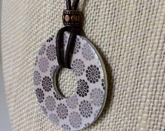 1 Flower Pendant Necklace