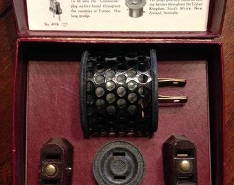 Vintage Schick World Travelers Kit