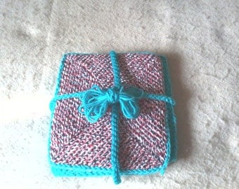 original novelty dishcloths. Set of 3.