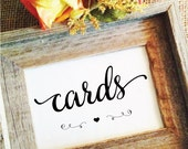 cards sign (Lovely) heart (Frame NOT included)