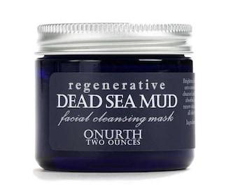 Regenerative Dead Sea Mud Mask, Dead Sea Mud Mask, Facial Mask, Black Mud Mask, Anti-Aging, Bright Complexion