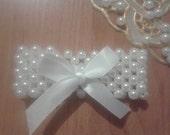 """Bracelet """"White joy"""""""