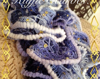 Sparkle Ruffle Scarves