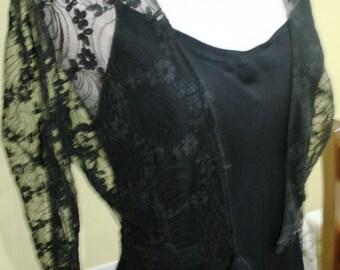 Beautiful Harrods of London vintage evening dress