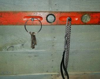 Hooks Key Rack Antique Cupboard Latch Oak By Chickendaddy