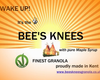 BEES KNEES GRANOLA (made with pure Maple Syrup)