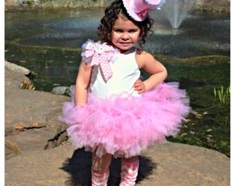 Pink Petti Tutu, Pettiskirt Tutu, Tutu, Birthday Petti Tutu, Tutu Skirt, Photo Prop, Baby Shower Gift