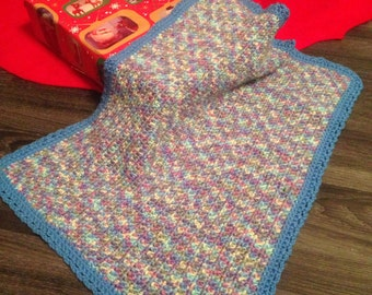 Crochet Multicolor Small Blanket