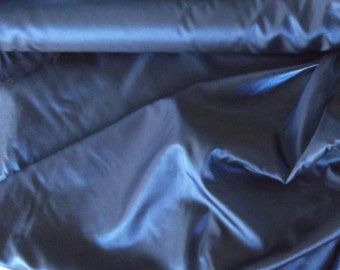Taffeta Organza Fabric, colour choice of Bottle Green shot Black or Blue shot Black,