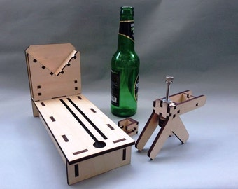 Cut bottles to any shape with curves and different angle as you want - Luca Bottle Cutter