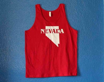 Nevada tank top red