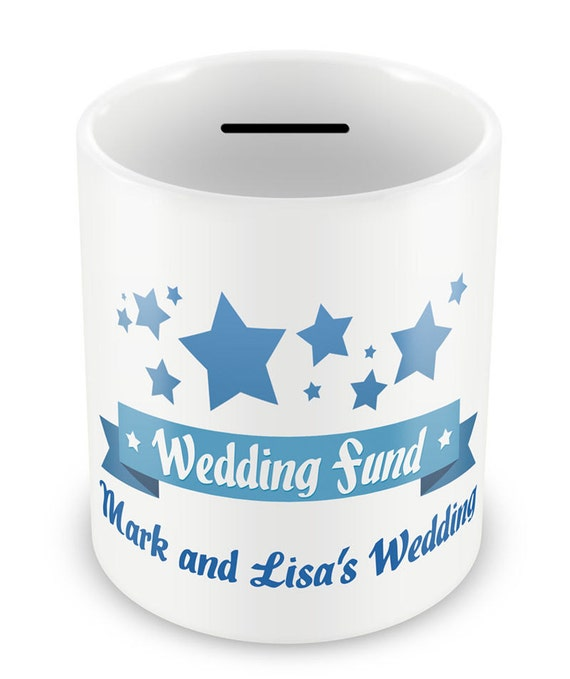 Personalized Wedding Fund Money Box Gifts Engagement
