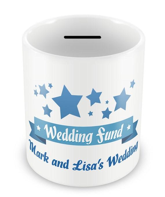 Personalized Wedding Fund Money Box Gifts Engagement