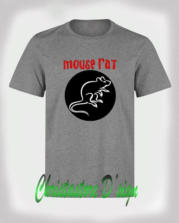 Mouse Rat t Shirt Mouse Rat Logo in Circle Shirt
