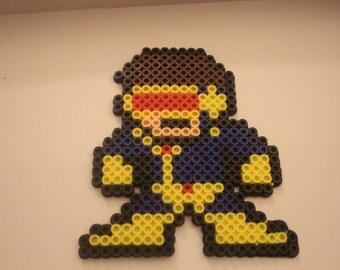 Cyclops 8-bit perler
