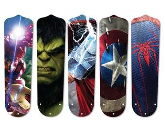 Super Hero Ceiling Fan Blades