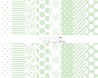 INSTANT DOWNLOAD 8 Digital printable papers Pack. -For scrapbooking, paper craft etc
