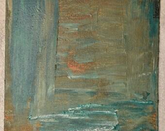 The Corridor Acrylic Painting
