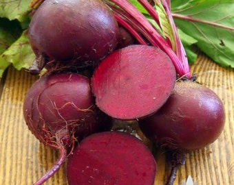 Detroit Dark Red Beet Heirloom Seeds - Non-GMO, Open Pollinated, Untreated
