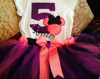 Minnie Mouse custom outfit