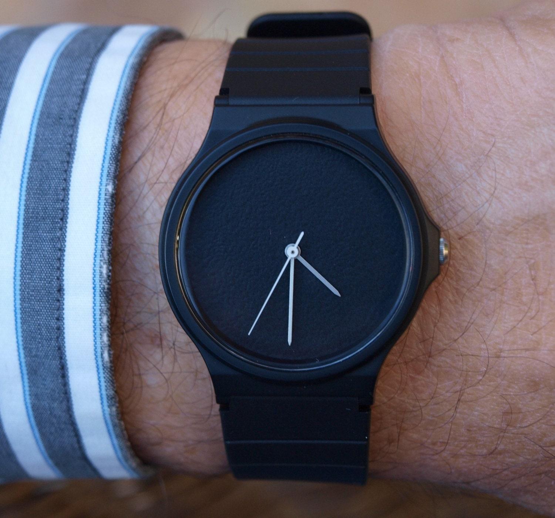 Bevorzugt Personnalisé Casio Noir Mat montre unisexe montre des SG17
