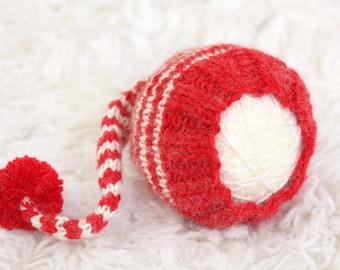 Newborn Knit Stocking Cap