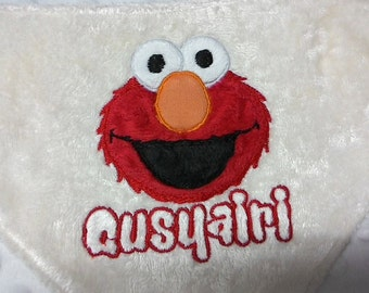 ON SALE Instant Download Cute Elmo Sesame Street Machine Applique Embroidery Design, Elmo Design, Sesame Street For Kids Baby, 4X4 5X7 6x10